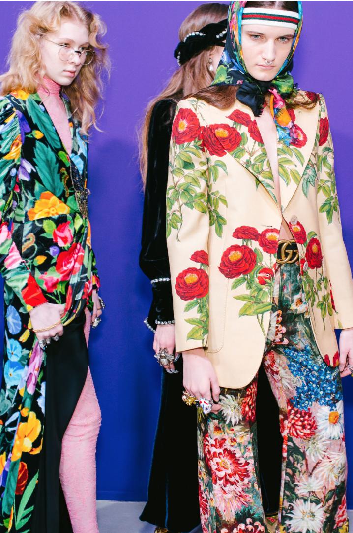 Gucci A/W 2017.Photography: Corey Tenold, via Vogue.com