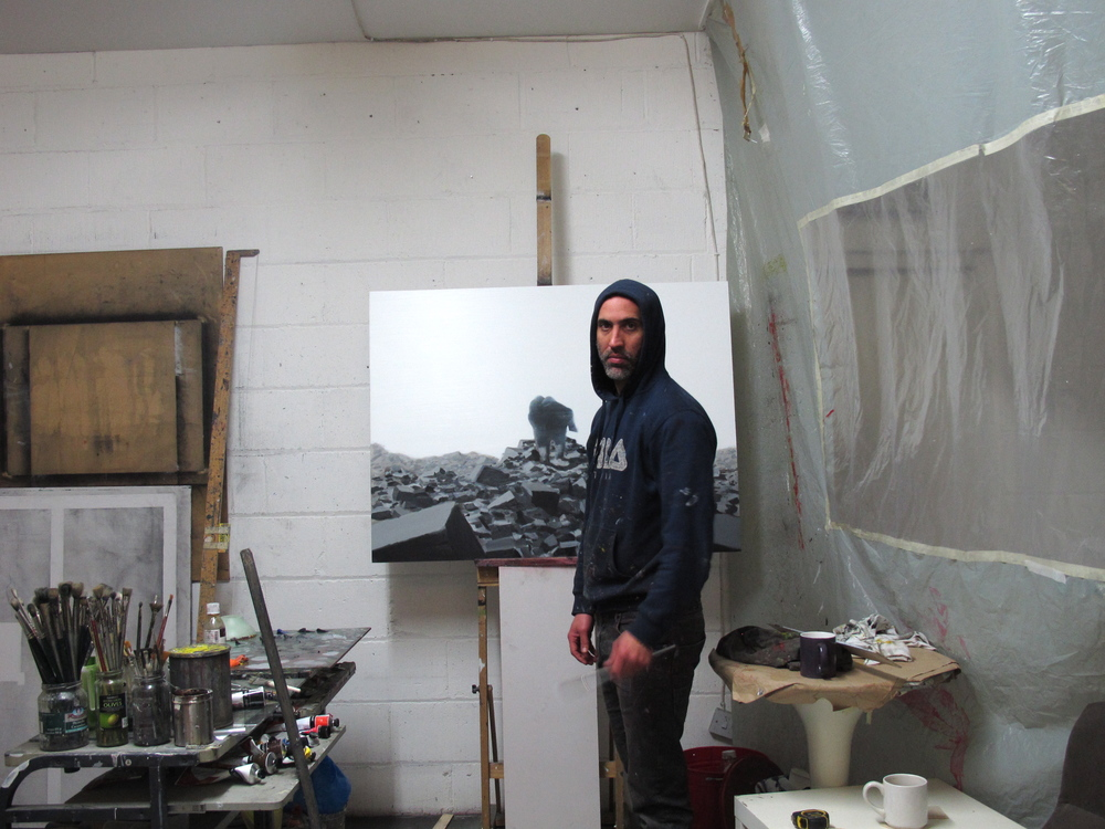 Working on 'From Out Of The Rubble'