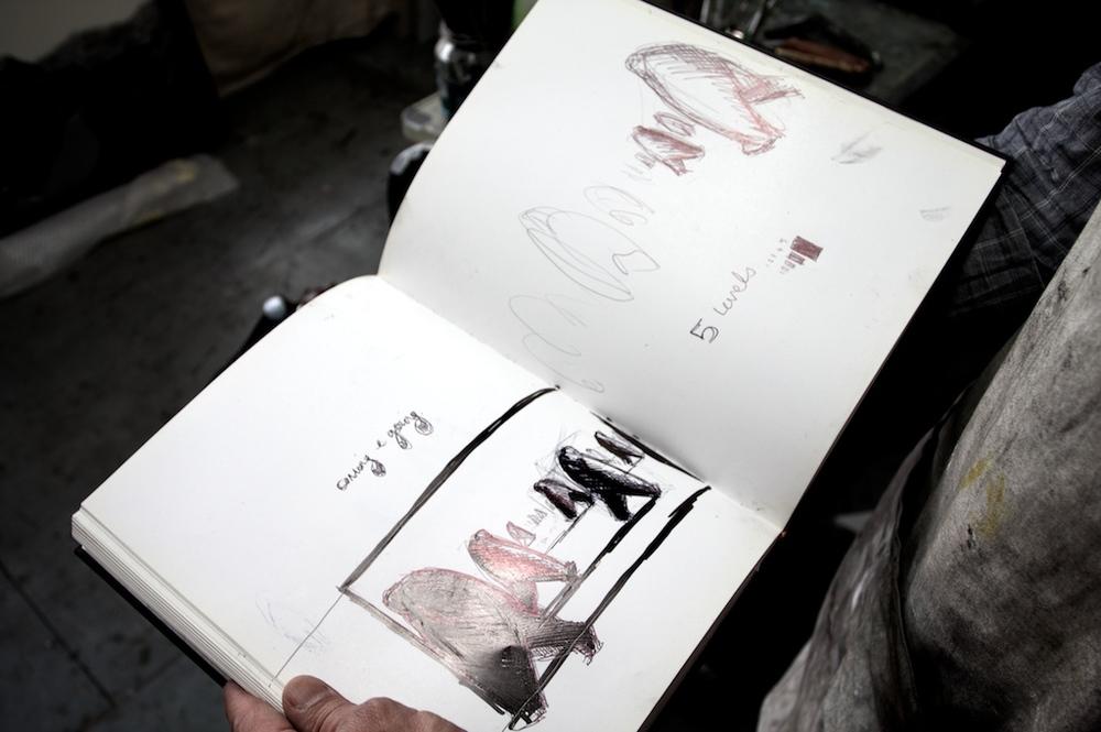 Sketchbook workings
