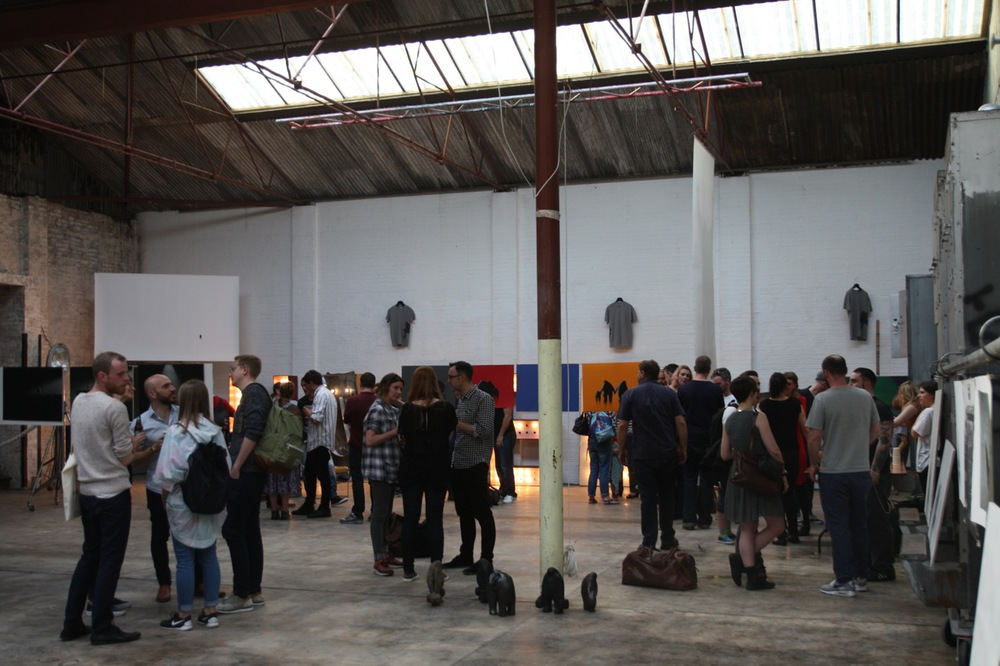 The Blue Factory (2015), London E8