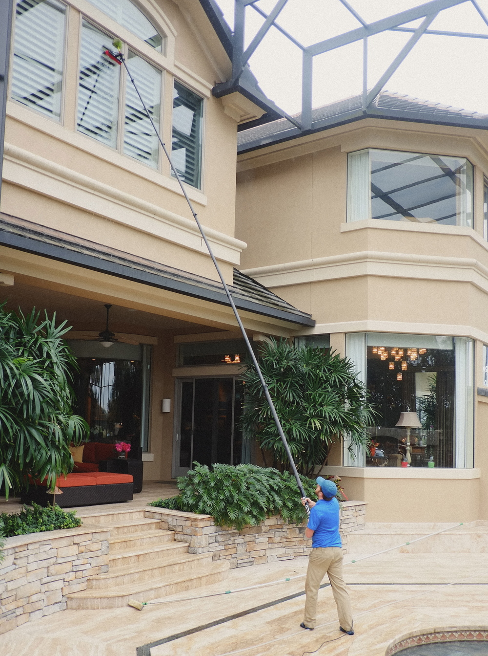 Professional Exterior Window Cleaning