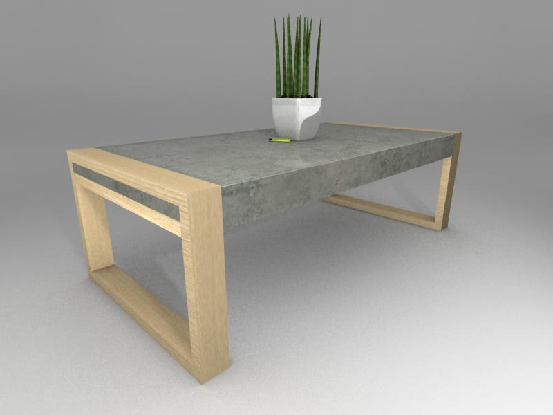 Concrete Life - coffee table