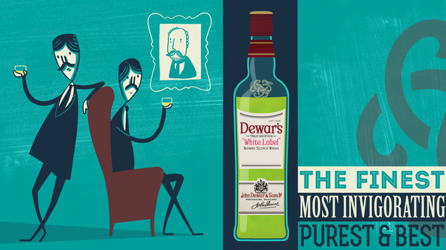 """DEWARS - MOST INVIGORATING"""