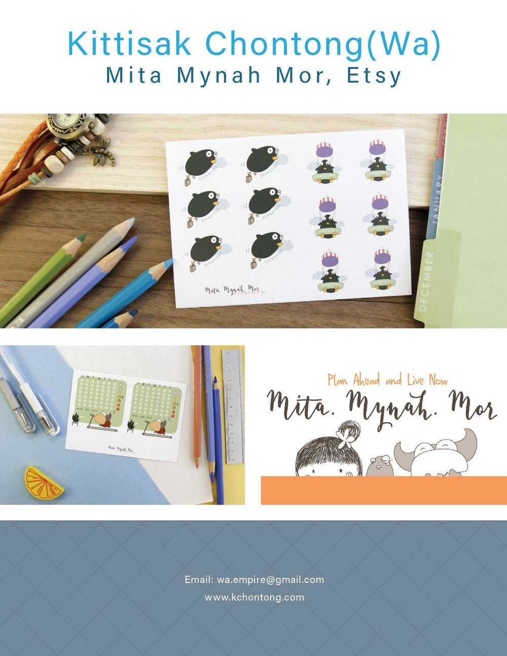 Designed for Mita.Mynah.Mor Planner Sticker on Etsy
