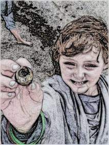 Discovering shells, and their nifty safety mechanisms, is educational gold.
