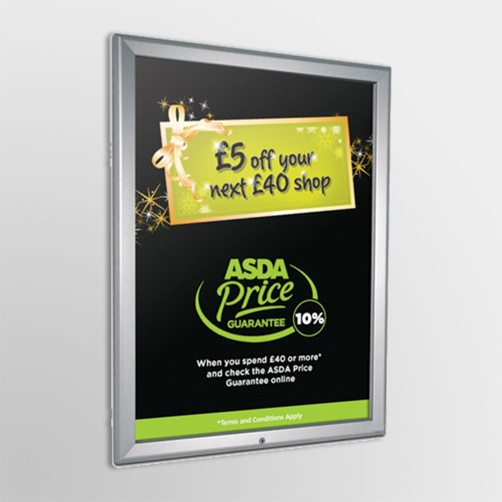 Simple, Stylish Poster Display  Front-opening Snapframes for quick and easy poster change, indoor or outdoor use, change your message frequently without hassle or leave your poster secure for extended use. Snapframes offer a profession poster option for a progressive marketing campaign.    FIND OUT MORE...