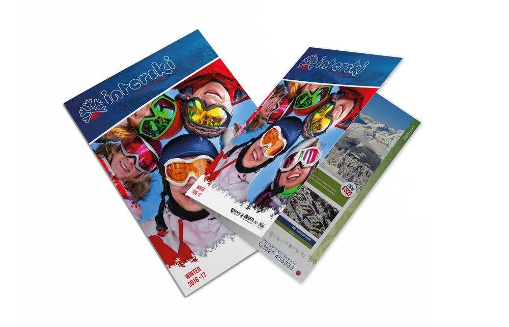 2016/17 Brochure Design for Interski, a Snowsports Holiday Company