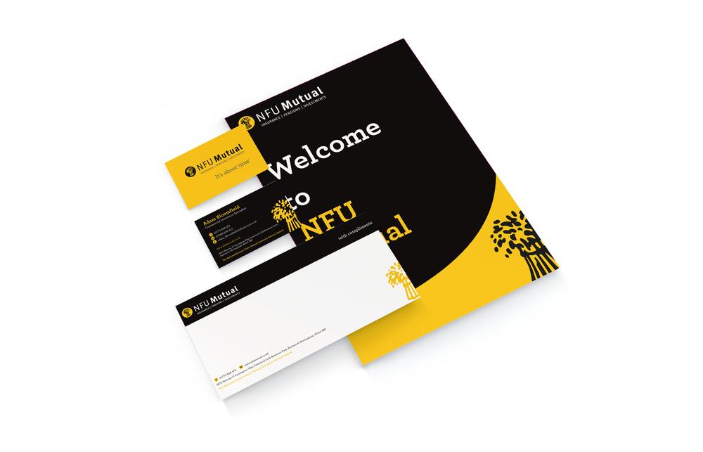 NFU Stationery Design