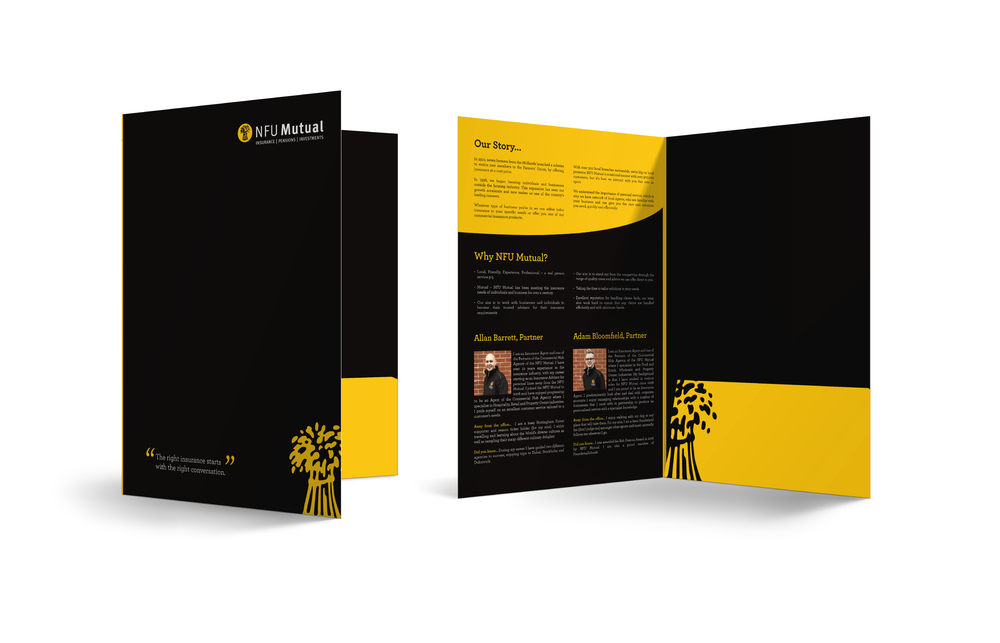 Oversized A4 Folder Design