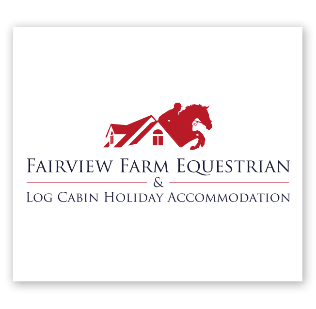 Fairview Farm Equestrian & Log Cabin Holiday Accommodation Logo Design