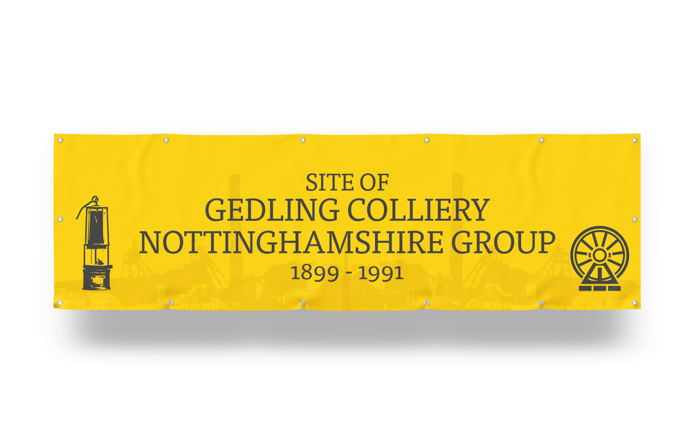 PVC Banner for Gedling Country Park