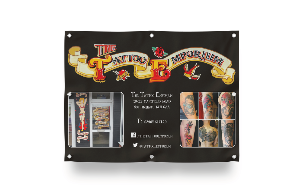 Tattoo Convention PVC Banner