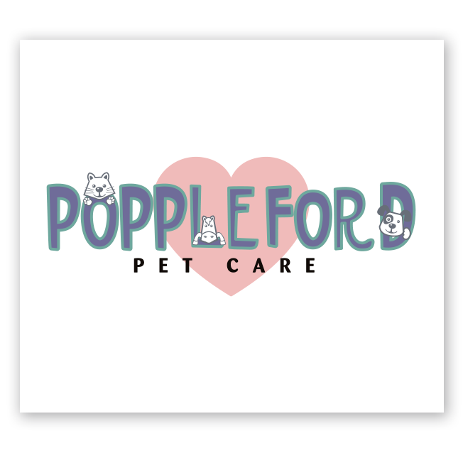 Poppleford Pet Care Logo Design