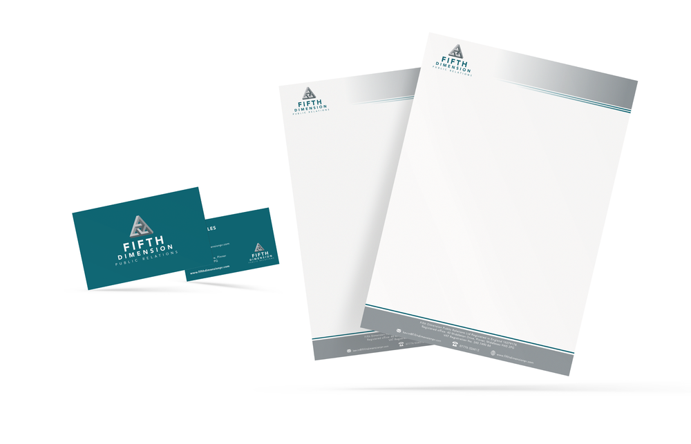 PR Company Stationery Design and Print