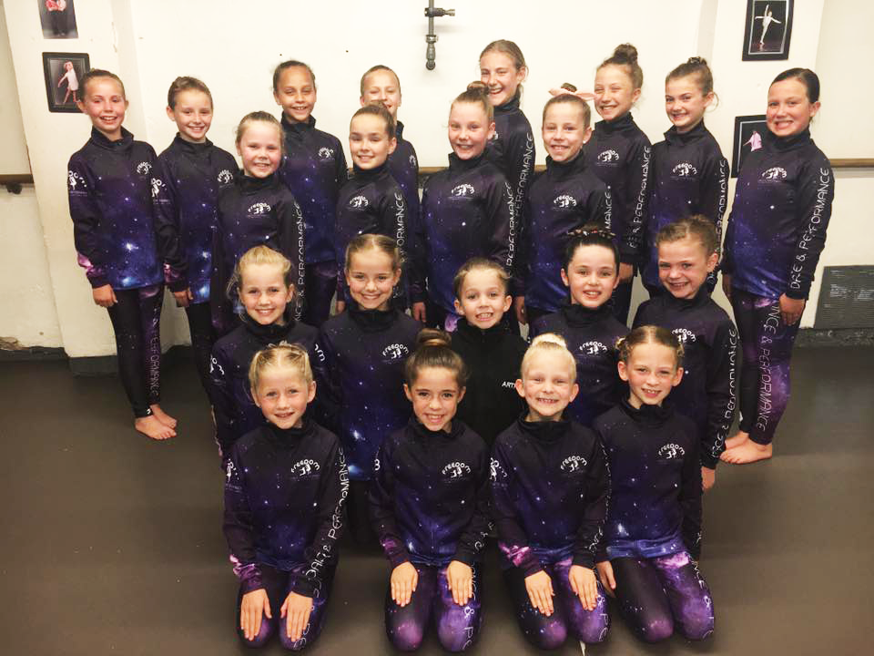 Freedom Dance & Performance in their Elite Competition Wear