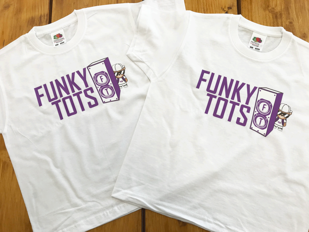 Funky Tots Printed T-shirts