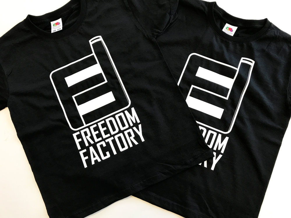 Freedom Factory Printed T-shirts