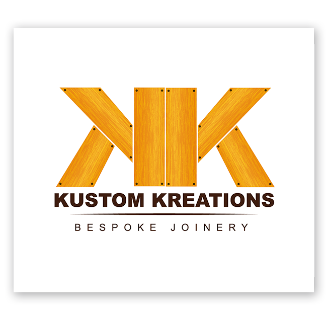 Kustom Kreations Bespoke Joinery Logo Design