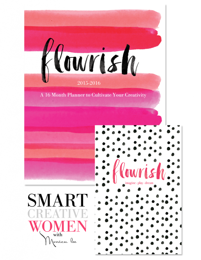 Smart Creative Women Planner (Brushy Alphabet)