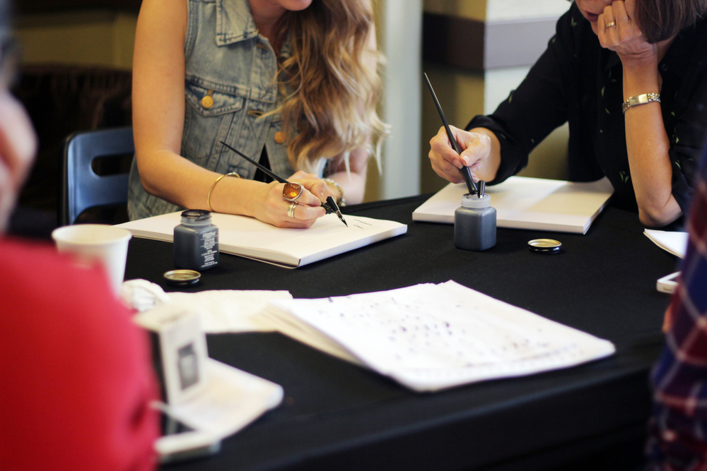Mjw calligraphy basics in anaheim molly jacques modern