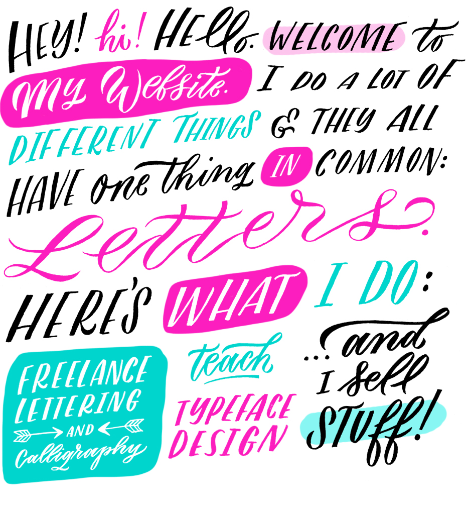 @mollyjacques Lettering & Calligraphy