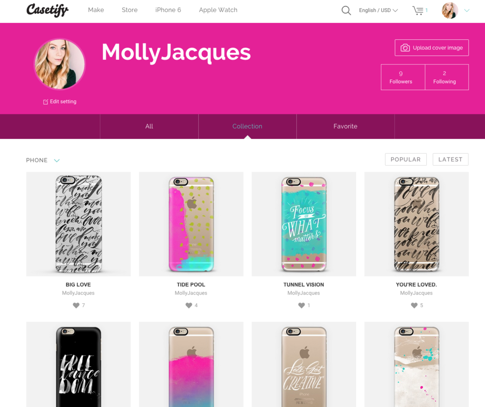 @mollyjacques for @casetify