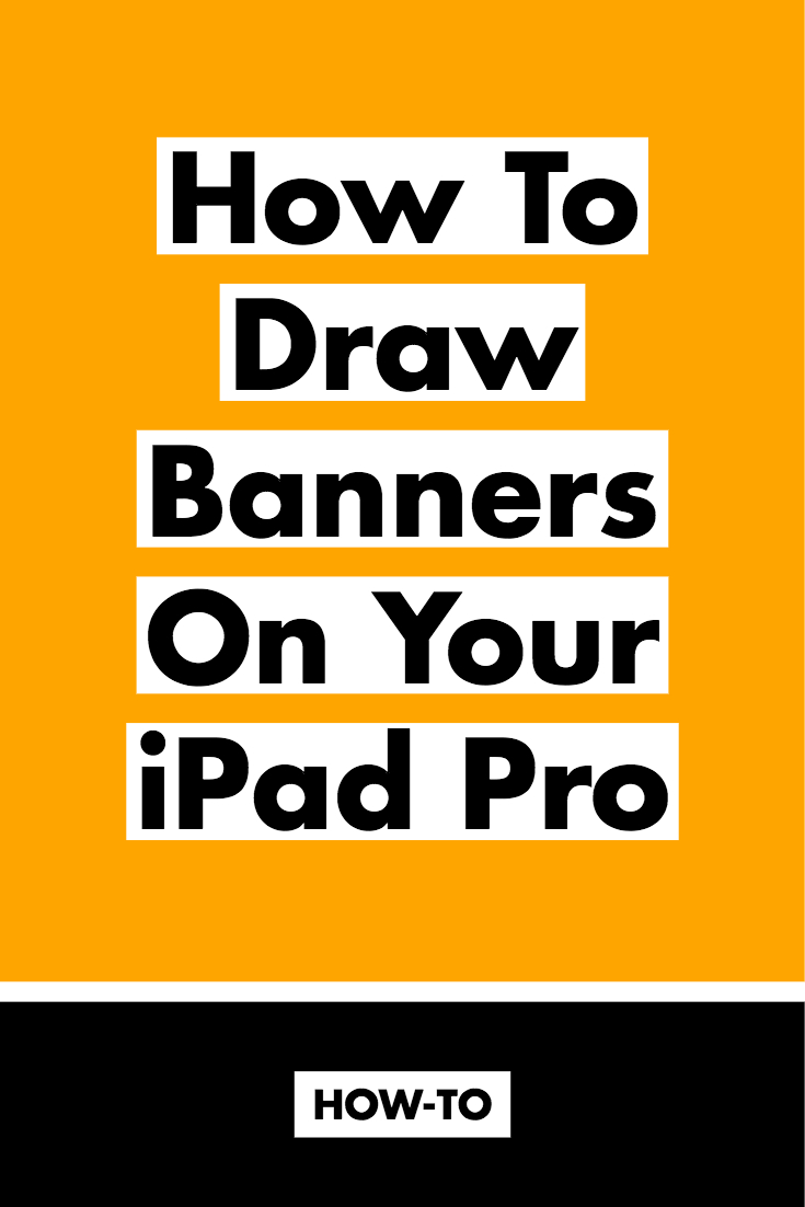 How to Draw Banners On Your iPad Pro in Procreate App - Molly Jacques