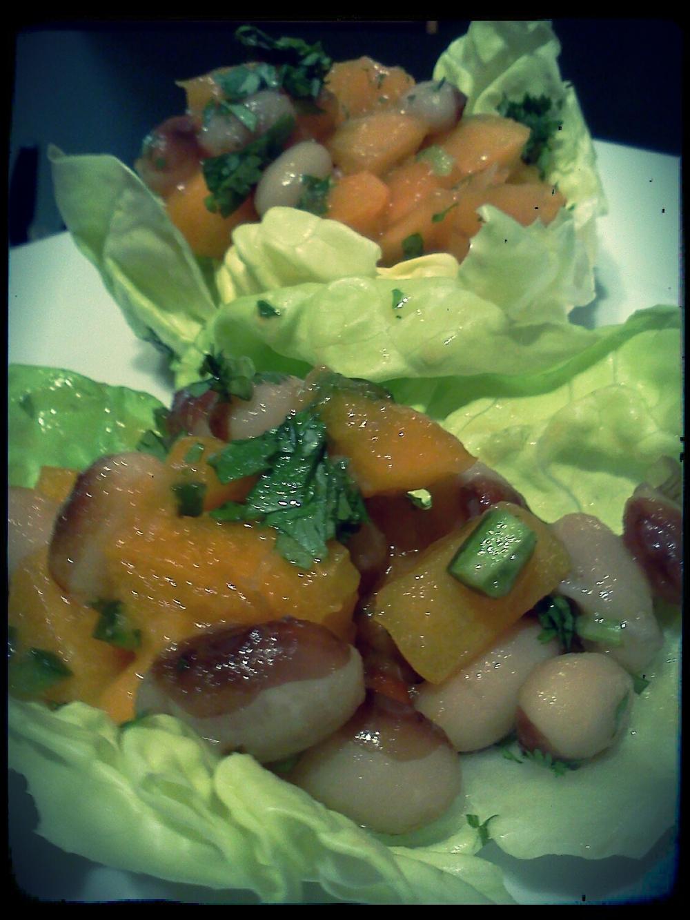 Yellow Eye Stueben Apricot Salsa