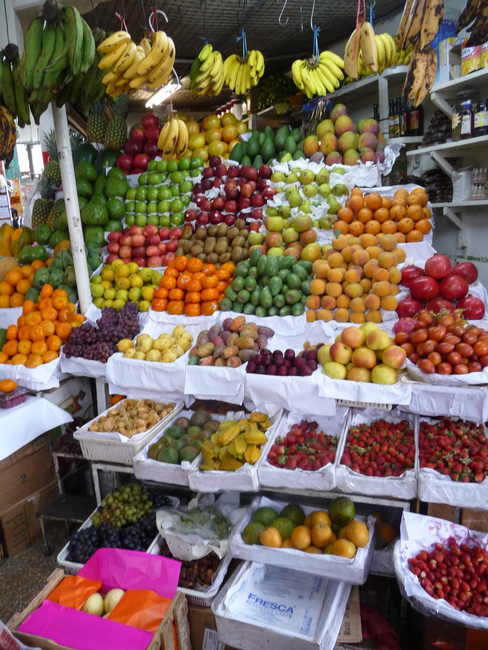 Fruit at Lima Market