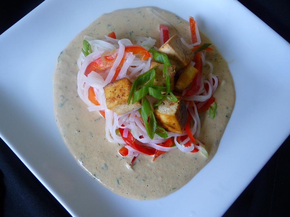 Orange Cashew Ginger Stir-fry