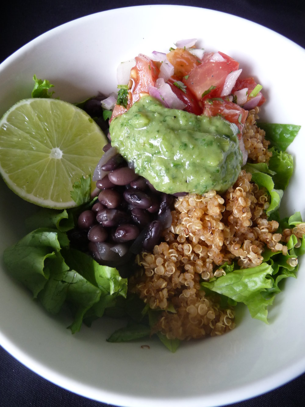 Quinoa Fiesta Bowl - Healthy, Gluten-Free, Vegan Power Bowl