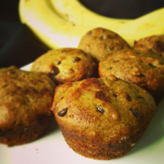 Chunky Monkey Mini Muffins - Healthy, Plant-Based, Oil-Free, Chocolate Banana Vegan Bread Recipe