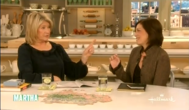 Dr. Green Offers  Memory Tips to Martha Stewart.