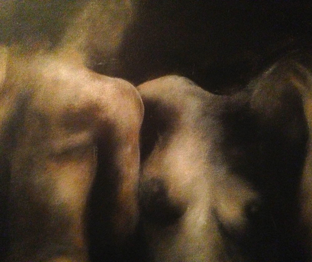 (closeup) Naturalism, 2015   Acrylic & oil on canvas