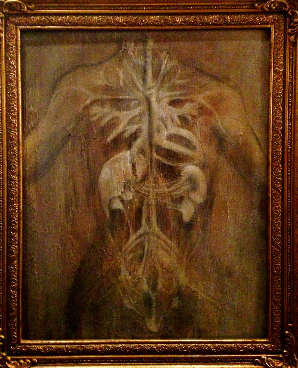 (framed)Artonomy, 2016 Mixed media on canvas
