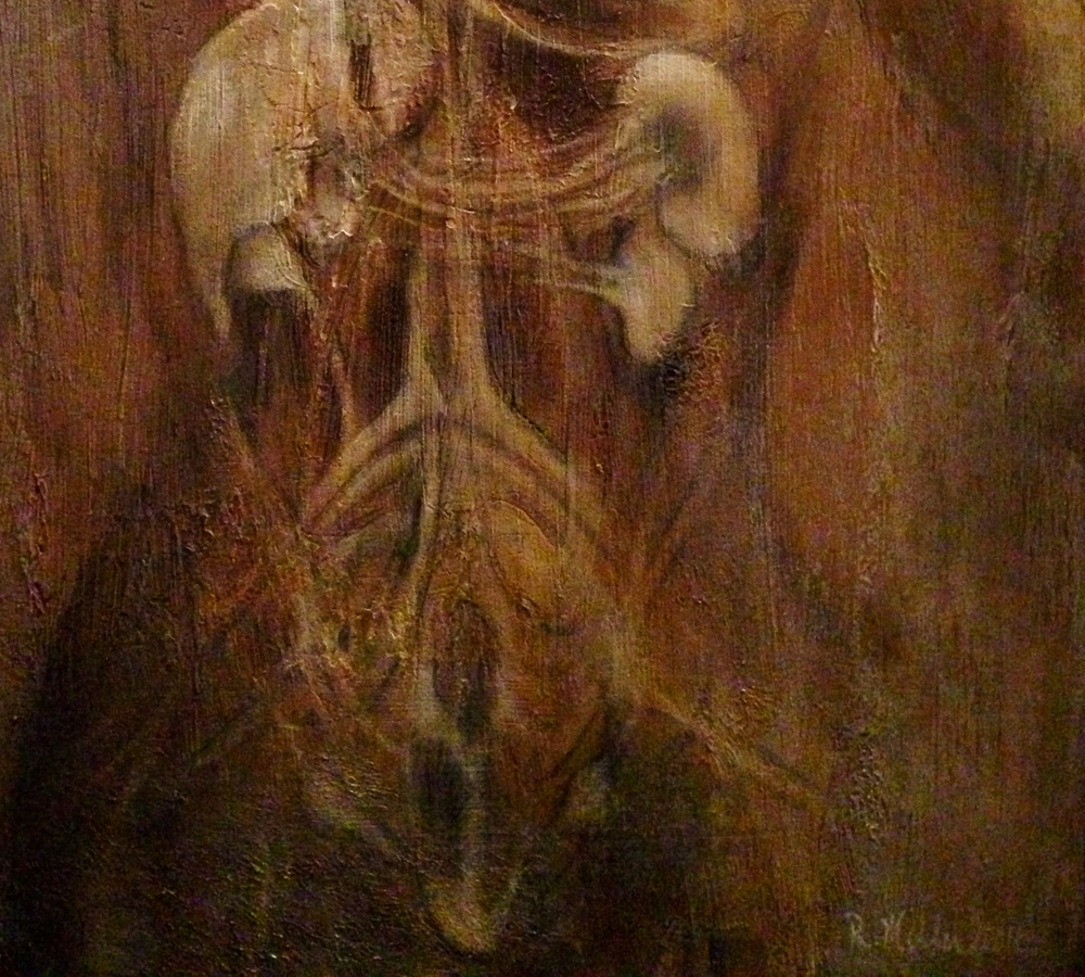 (texture closeup)Artonomy, 2016 Mixed media on canvas