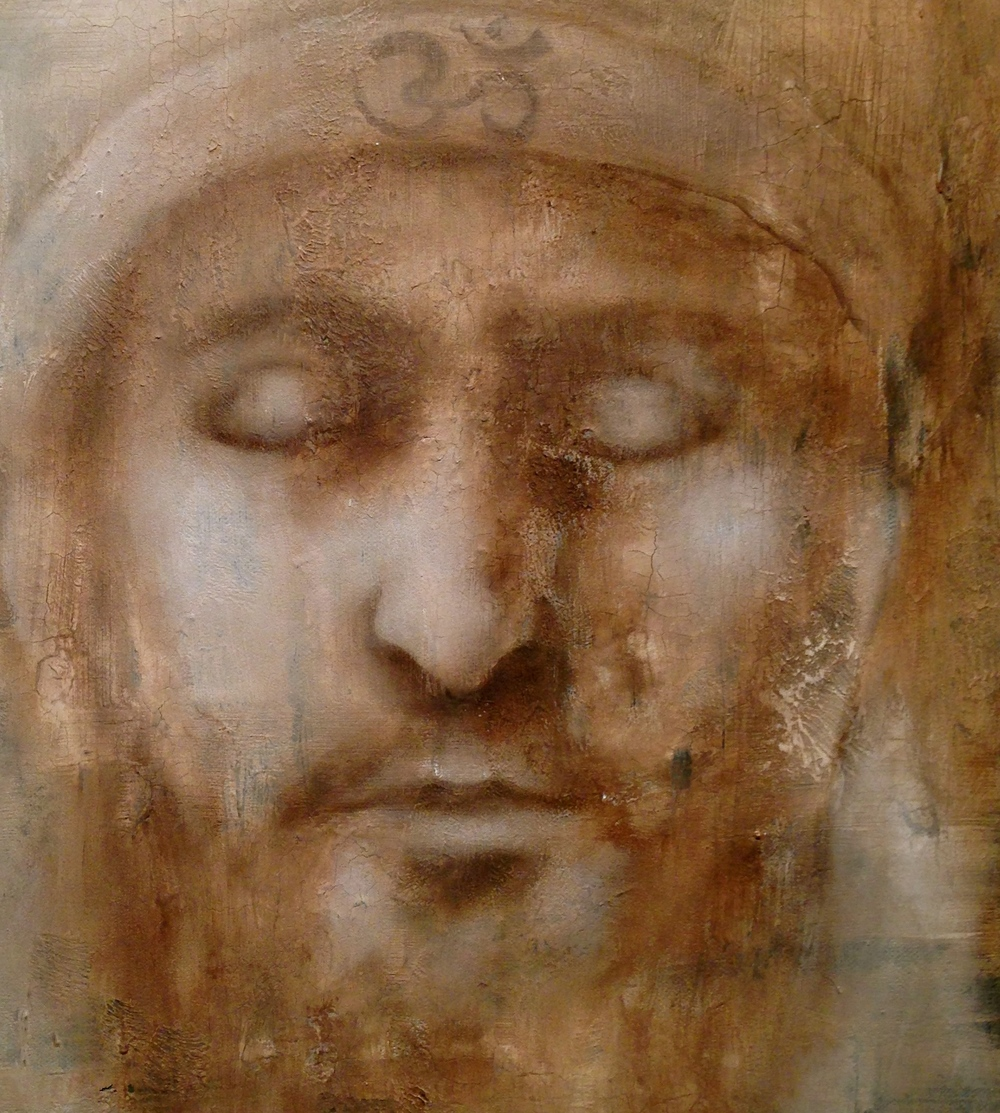 (texture closeup)Yogi, 2016 Mixed Media on canvas