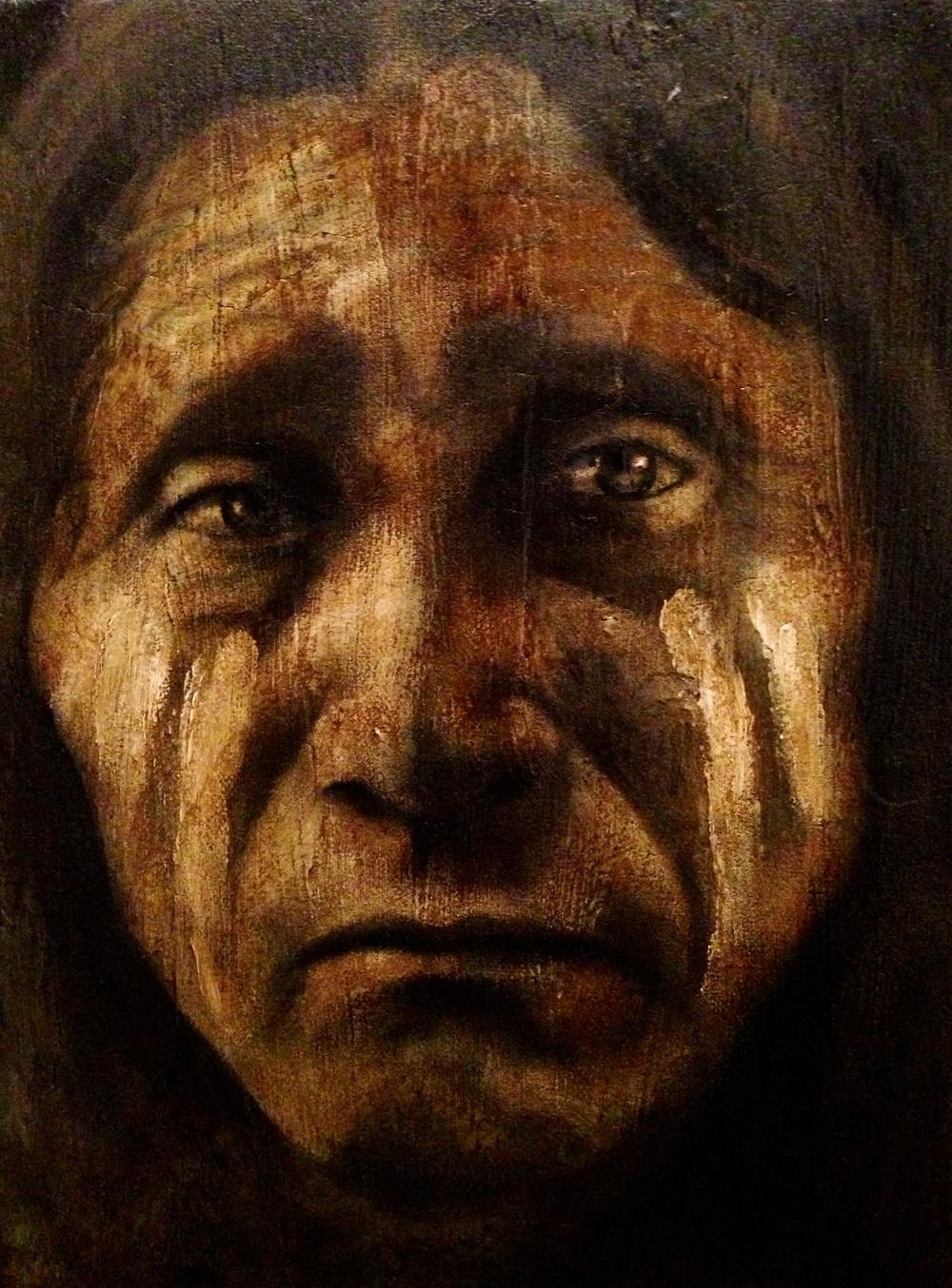 Dyami, 2016   Acrylic & oil on canvas