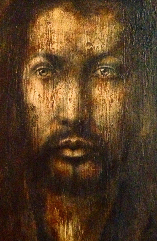 (texture closeup) Albrecht Dürer, 2016   Acrylic, texture medium on canvas