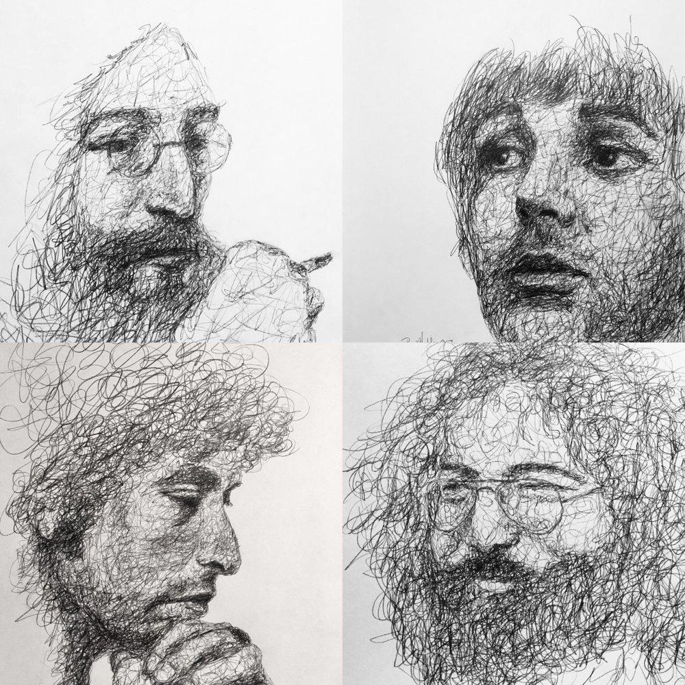 Combo John L, Paul M, Bob D, Jerry G.
