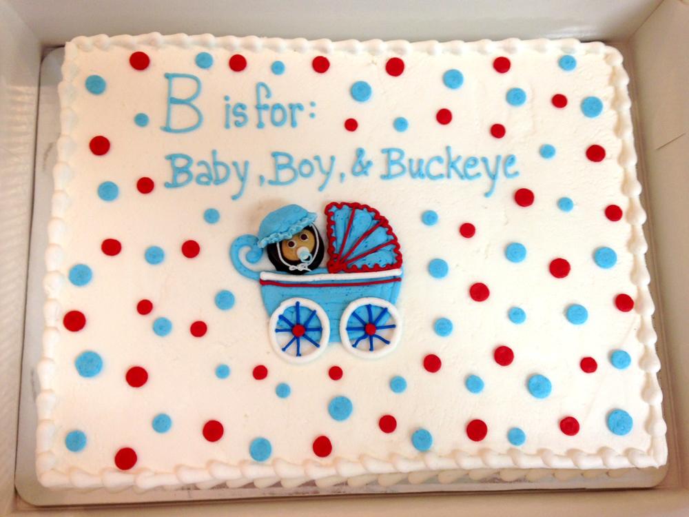 Buckeye Baby Buggy & Polka Dots