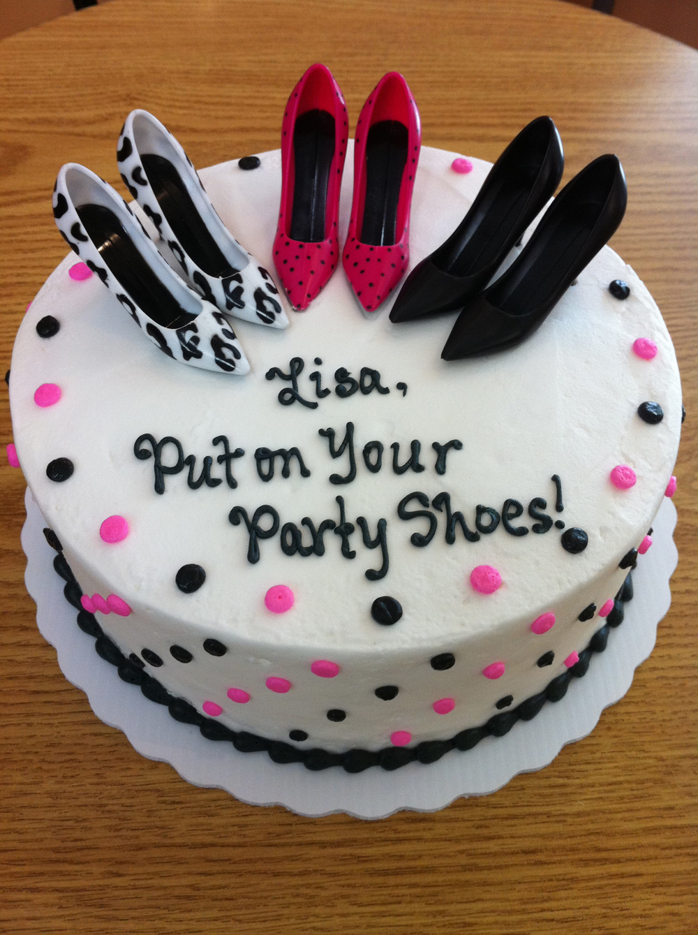 Put Your Party Shoes On!