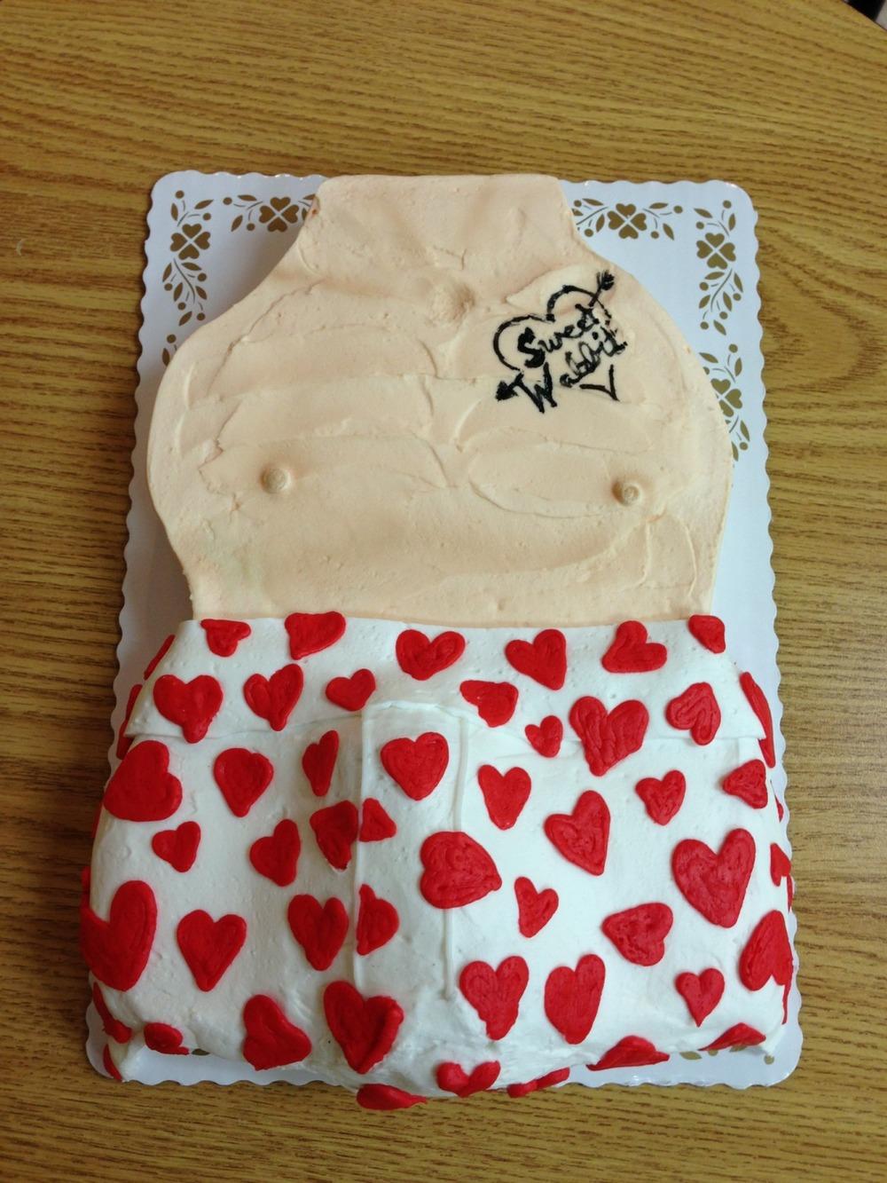 Grandpa Torso Cake