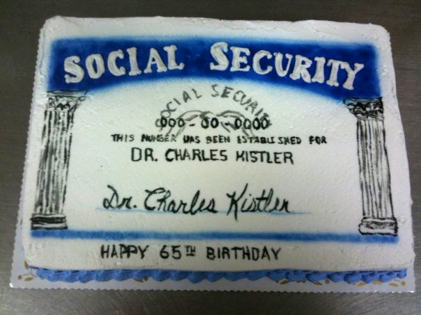 Social Security Card - Retirement