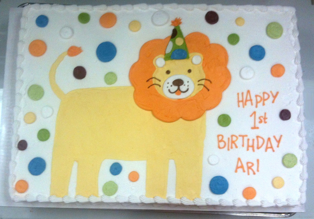 Lion in Party Hat