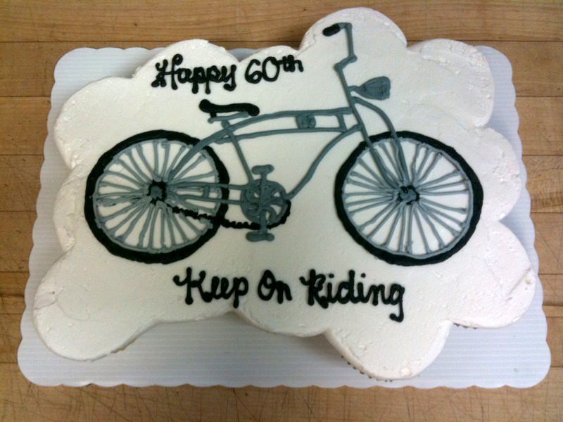 Bicycle out of Cupcakes