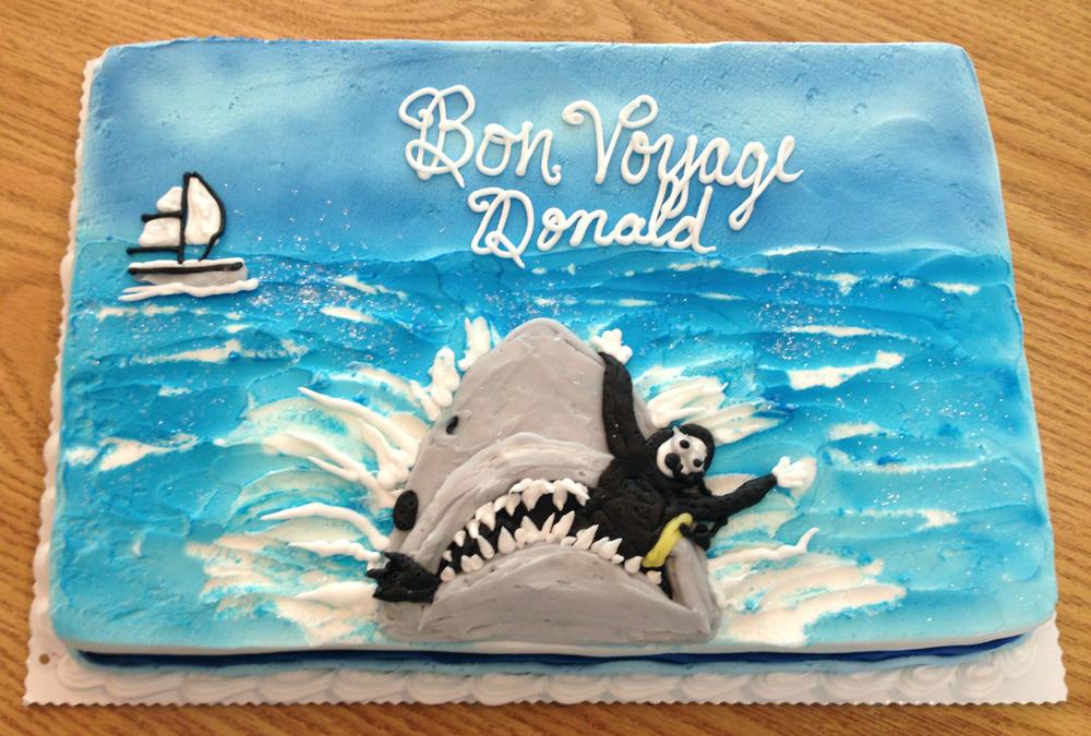 Bon Voyage, Shark