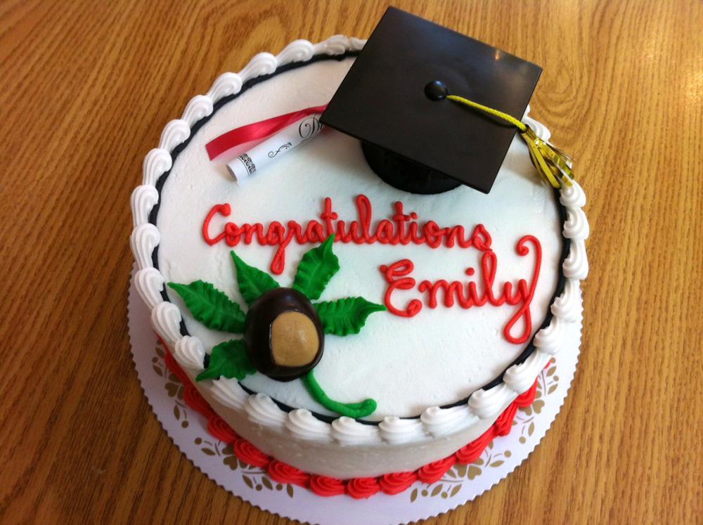 Grad Cap, Diploma & Buckeye