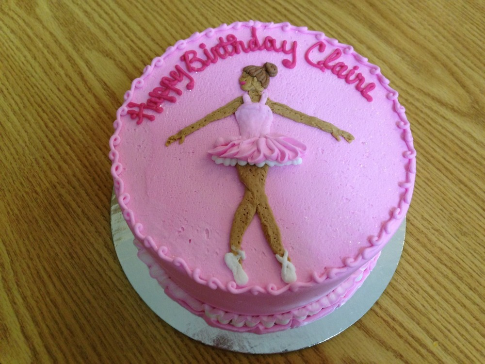 Ballerina on Pink Icing