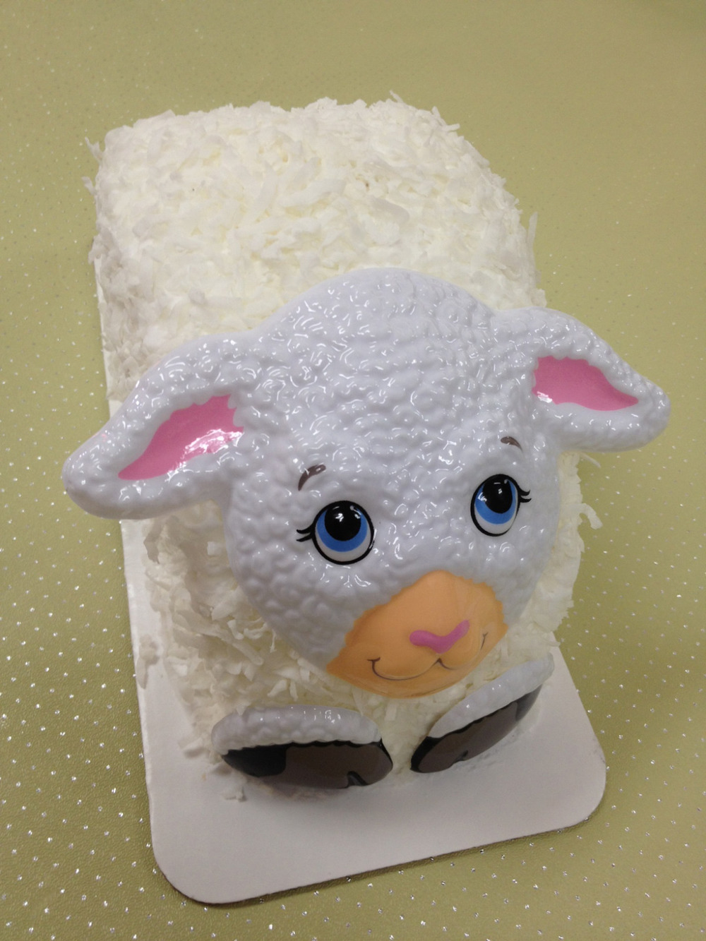 Lamb Shaped Cake